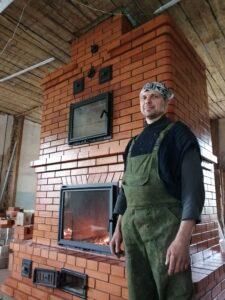 Отопительная каминопечь с хлебной камерой – печник Кублицкий Владимир